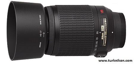 Nikon 55-200mm VR AF-S f/4-5.6G ED