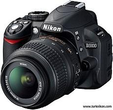 Nikon D3100 14.2 Megapiksel DX, 3FPS, 1080p HD