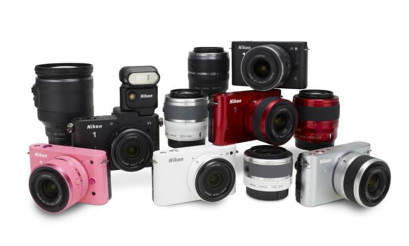 Nikon 1 J1 V1 Farklılıkları