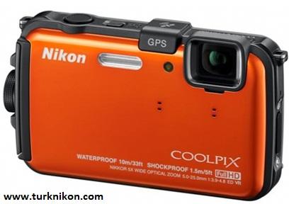 Su Geçirmez Dayanıklı Bir Nikon : Coolpix AW100