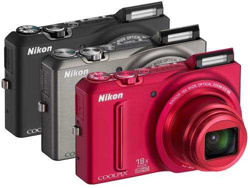 Tasarımı Farklı Bir Kompakt: Nikon Coolpix S9100