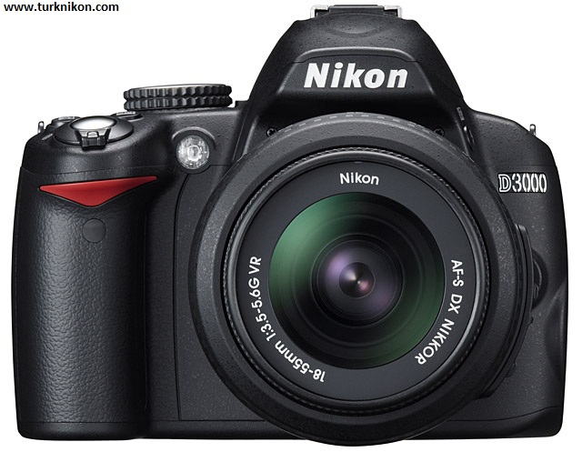 Nikon D3000 10 MP DX, 3 FPS