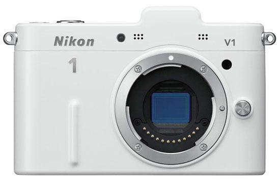 Nikon 1 V1 Beyaz Modeli Satışta
