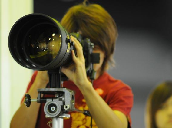Nikon 1 V1 ile 2160mm Zoom