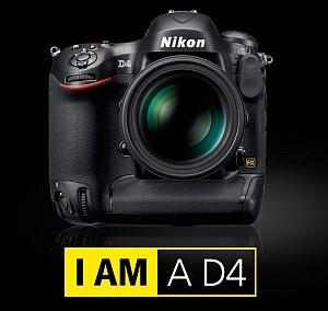 Nikon D4 Resmi Olarak Duyuruldu