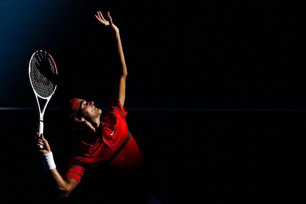 2012 Avustralya Açık Tenis Turnuvası'ndan Kareler