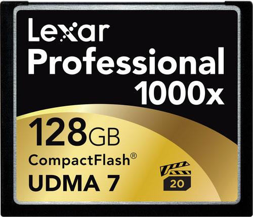 Lexar 1000x Pro CF Kartların Satışı Başladı