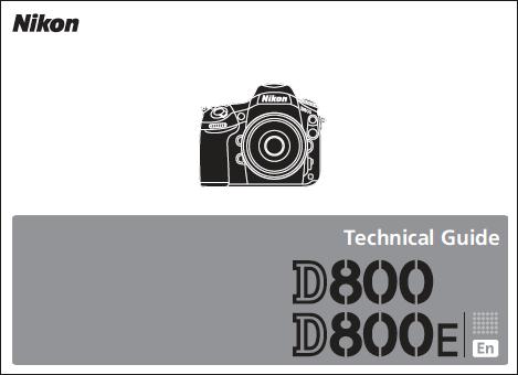 Nikon D800/D800E Teknik Kılavuzu Yayınlandı