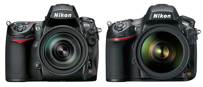 Nikon D800 ve Nikon D700 ISO Karşılaştırması