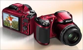 Yeni Yaşam Serisi Dijital Kompakt Kameralar – Nikon Coolpix L810/L26/L25