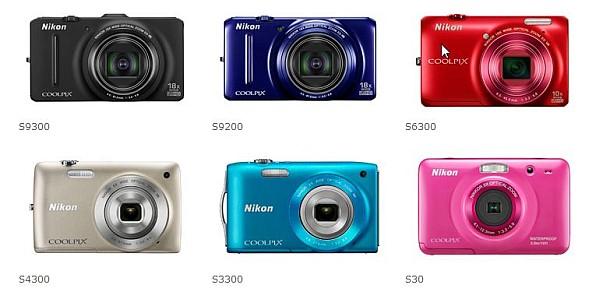 Yeni Stil Serisi Dijital Kompakt Kameralar – Nikon COOLPIX S9300/S9200/S6300/S4300/S3300/S30