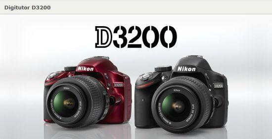 Nikon D3200 Digitutor ile D3200'ü Yakından Tanıyın