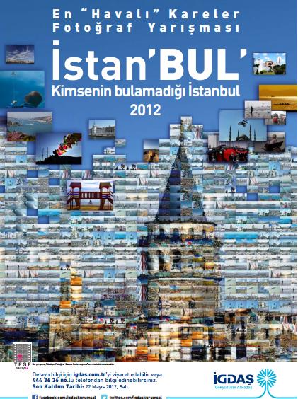 """İGDAŞ En Havalı Kareler 2012 """"İstan'BUL"""" Konulu Fotoğraf Yarışması Sona Erdi"""