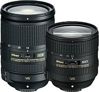 18-300mm f/3.5-5.6G ED VR ve 24-85mm f/3.5-4.5G ED VR Nikon Lensler Duyuruldu