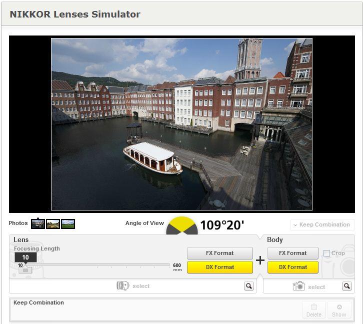 Nikon Lens Simülatörü