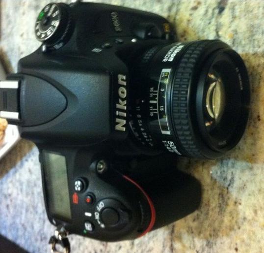 Nikon D600 Üst LCD Görüntüsü