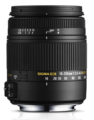 Yeni Sigma 18-250mm f/3.5-6.3 DC Macro OS HSM Temmuz'da Satışta