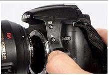Nikon D-SLR Lens (Objektif) Nasıl Takılır ve Dikkat Edilmesi Gerekenler Nelerdir?
