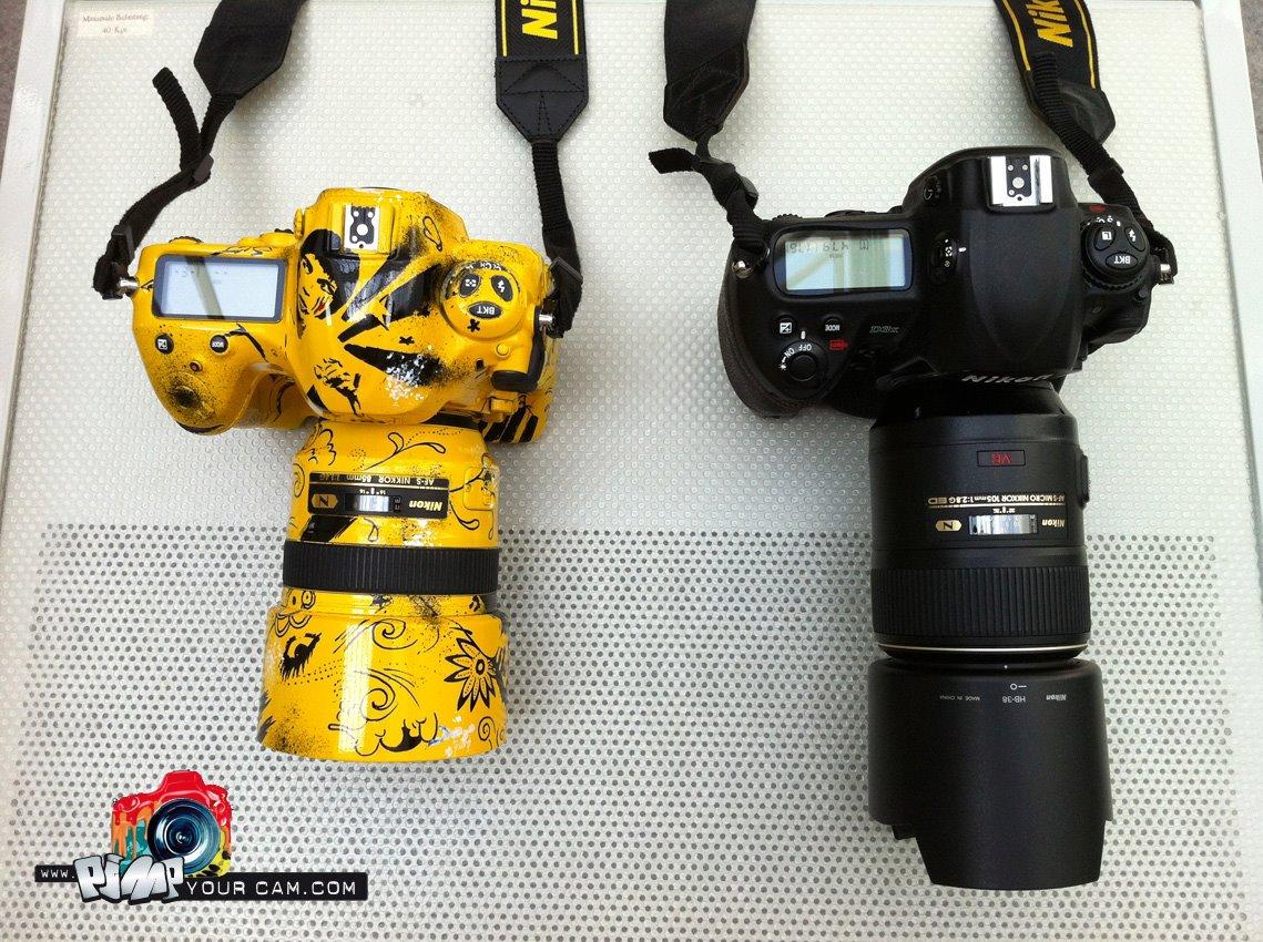 Nikon D4'de Renklendi