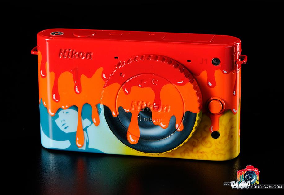 Nikon 1'e Renk Geliyor