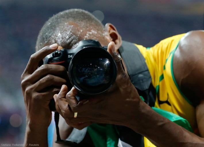 Nikon'a Sihirli Bir El Değdi [Usain Bolt & Nikon D4]