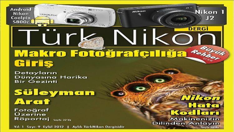 Türk Nikon Dergisi Eylül Sayısı Yayında