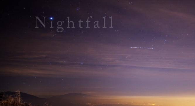 Los Angeles Şehrinin Time Lapse Videosu : NightFall