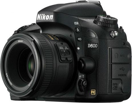 Nikon D600'ün Sensörü Sony Tarafından Üretildi