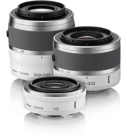 Yeni Nikon 1 Lensler: 32mm f/1.2, 6.7-13mm f/3.5-5.6 ve 10-100mm f/4-5.6