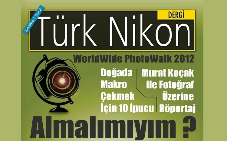 Türk Nikon Dergisi Kasım Sayısı Yayında