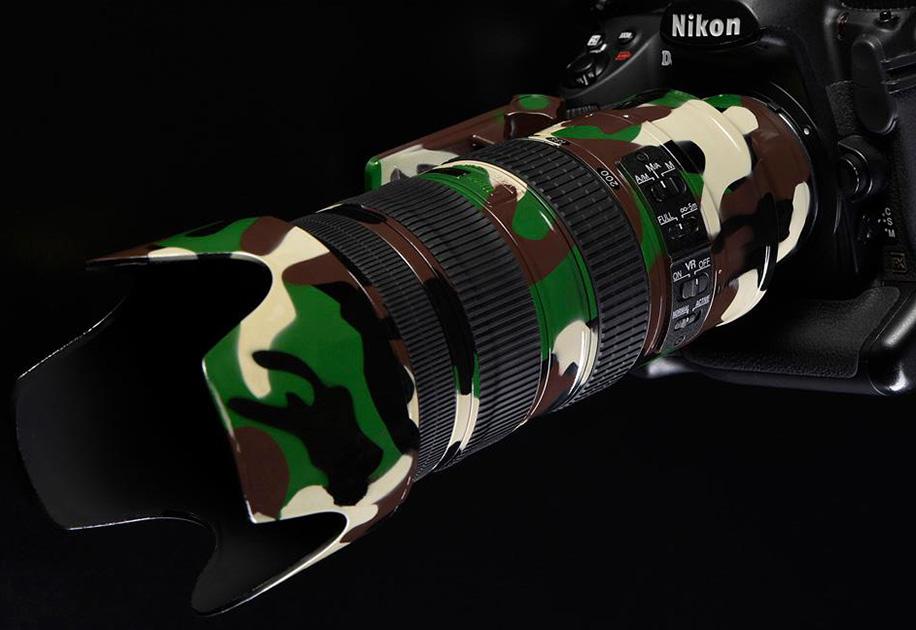 Nikon AF-S 70-200mm F2.8 Kamufle Oldu