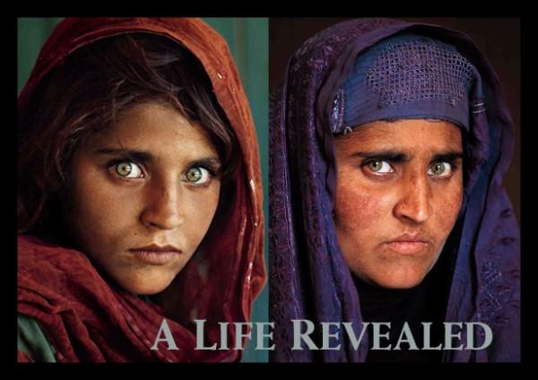 Dünyayı Cezbeden Gözlere Sahip Afgan Kızın Hikayesi