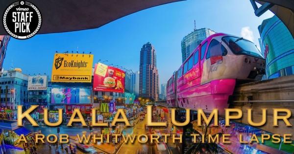Gece ve Gündüz – Kuala Lumpur Time Lapse Video