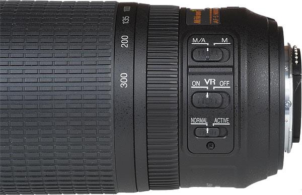 Nikon 55-300mm f/2.8-4 FX Lens için Patent Aldı