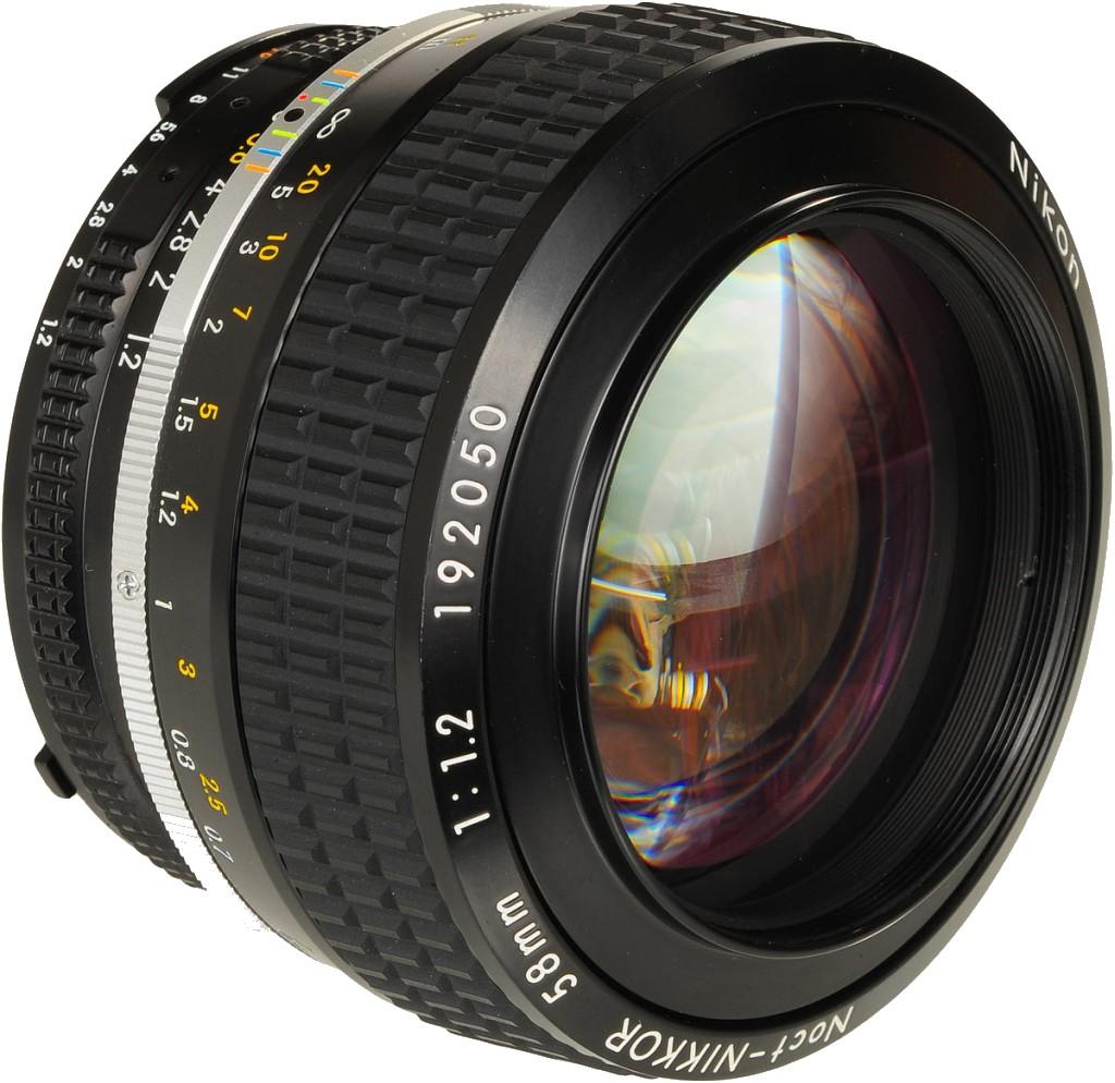 Nikon Yeni Lensi 58mm f/1.2 için Patent Aldı
