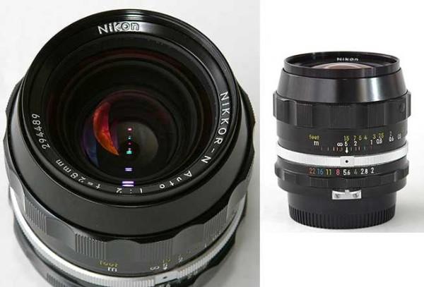 Nikon AF-n Dönemi (AF-new cosmetics): 1990