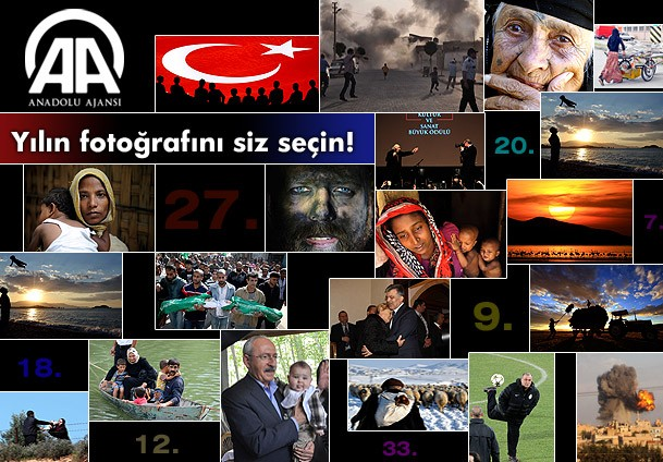 Anadolu Ajansı 2012'nin En İyi Fotoğrafını Seçiyor