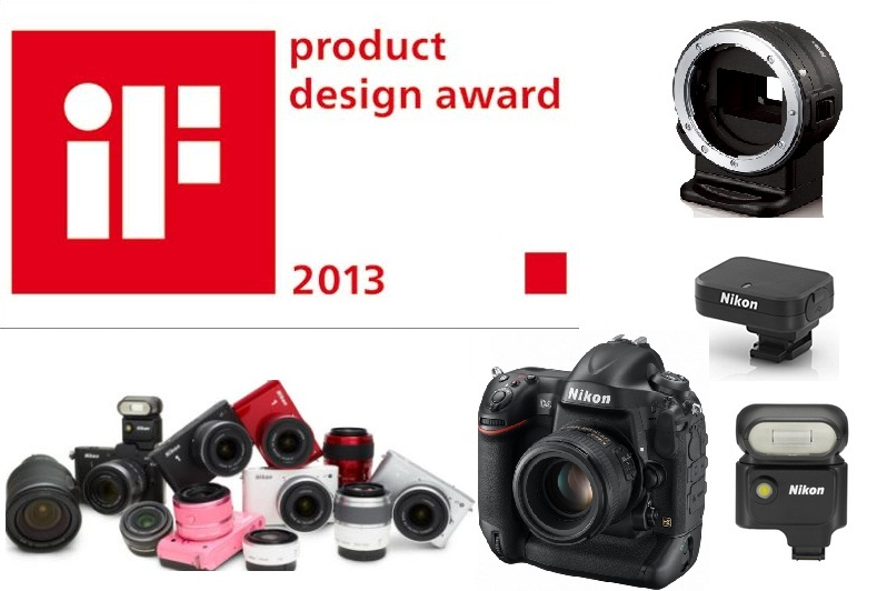 Nikon D4 ve Nikon 1'lere Ödül Yağdı [iF Product Design Award 2013]