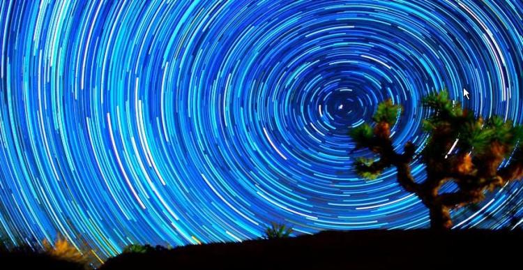 Yıldız İzleri Time Lapse Video [Star Trails]