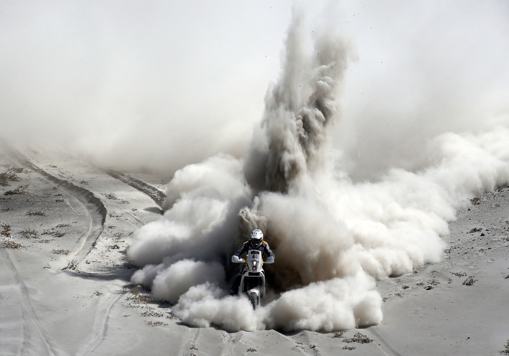 2013 Dakar Rallisi'nden Harika Kareler