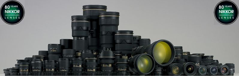 80 years_nikkor_lenses