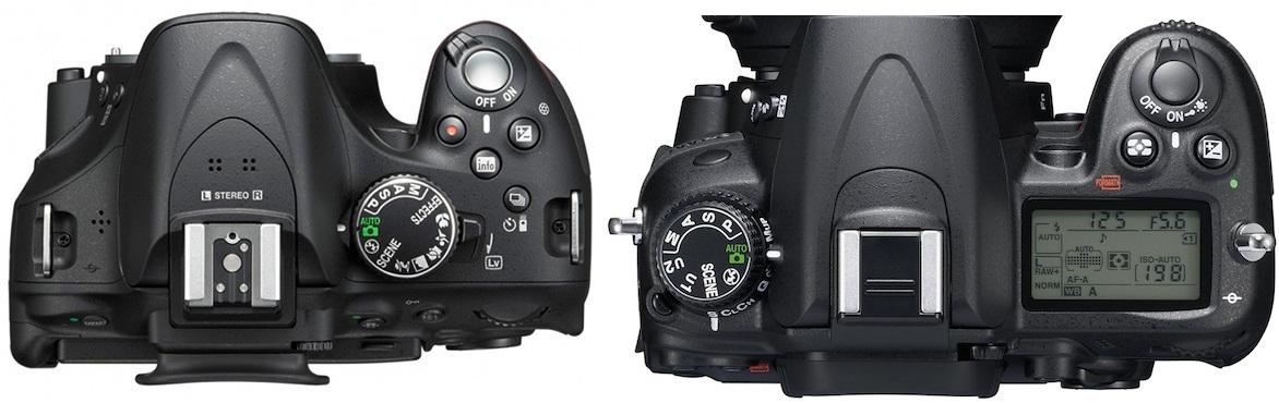 Nikon-D5200-D7000-top