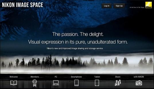 Nikon'dan Herkese Ücretsiz Fotoğraf Paylaşım ve Depolama Hizmeti [Nikon Image Space]