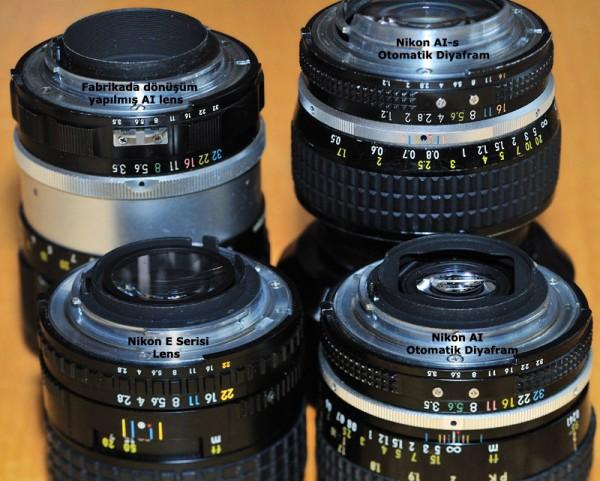 Eski Lenslerin Nikon DSLR Kameralar ile Kullanımı
