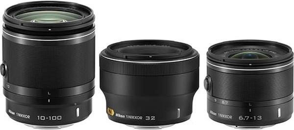 1 Nikkor VR 6.7-13mm f/3.5-5.6 ve 1 NIKKOR VR 10-100mm f/4-5.6 CES 2013 Etkinliğinde Duyuruldu
