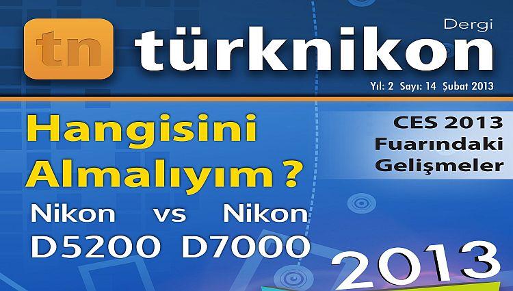 Türk Nikon Dergisi Şubat 2013 Sayısı Yayında
