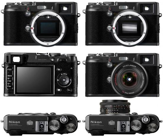 Nikon Retro Görünümlü Üst Seviye Aynasız Fotoğraf Makinesini Duyurabilir