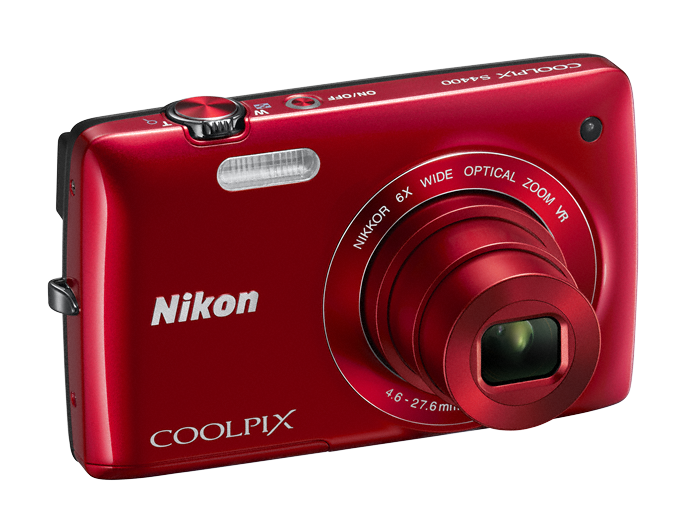 Nikon Coolpix S4400-red