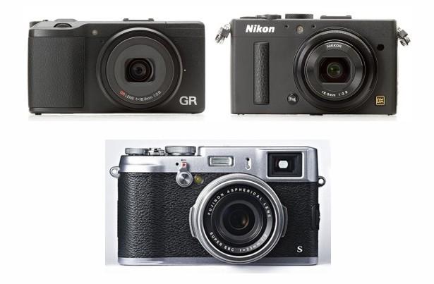 Nikon COOLPIX A vs Ricoh GR vs Fujifilm X100S Özellikler Karşılaştırması