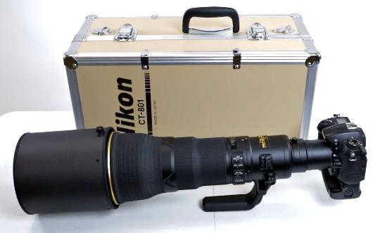 Nikon 800mm f/5.6E FL ED VR Lens Kutudan Çıktı [Unboxing]